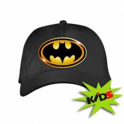 Детская кепка Batman logo Gold - PrintSalon
