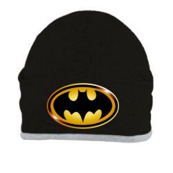 Шапка Batman logo Gold - PrintSalon
