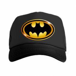 Кепка-тракер Batman logo Gold - PrintSalon