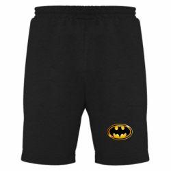 Мужские шорты Batman logo Gold - PrintSalon