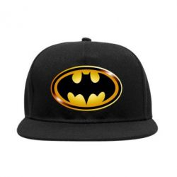 Снепбек Batman logo Gold - PrintSalon