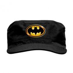 Кепка милитари Batman logo Gold - PrintSalon