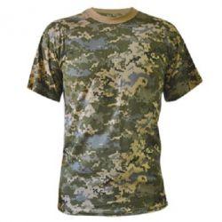 Камуфляжная футболка Без рисунка - PrintSalon