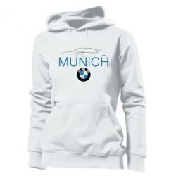 Женская толстовка BMW Munich