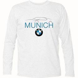 Футболка с длинным рукавом BMW Munich