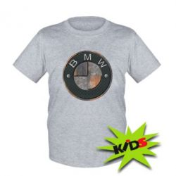 Детская футболка BMW Steel Logo