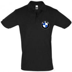 Футболка Поло BMW - PrintSalon