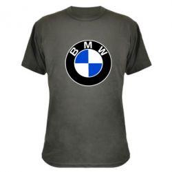 Камуфляжная футболка BMW - PrintSalon