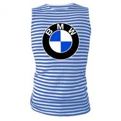 Майка-тельняшка BMW - PrintSalon