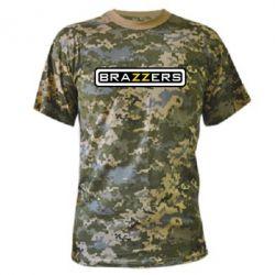 Камуфляжная футболка Brazzers - PrintSalon