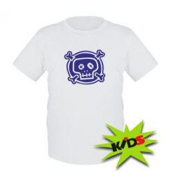 Детская футболка Череп  х_х - PrintSalon