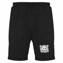 Мужские шорты Череп  х_х - PrintSalon