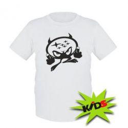 Детская футболка Чертик Subaru