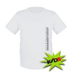Детская футболка Citroen Спорт