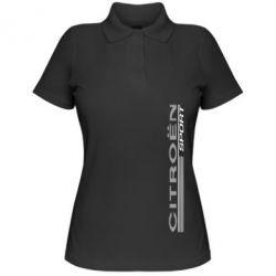 Женская футболка поло Citroen Спорт