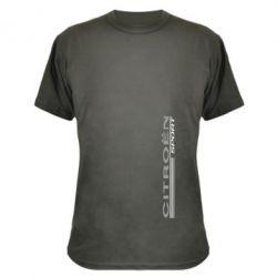 Камуфляжная футболка Citroen Спорт