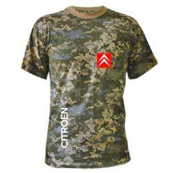 Камуфляжная футболка Citroen Vertical
