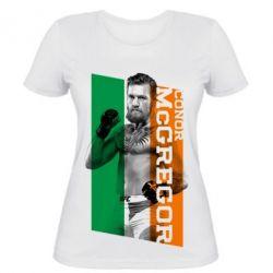 Женская футболка Conor UFC - PrintSalon
