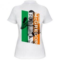 Женская футболка поло Conor UFC - PrintSalon