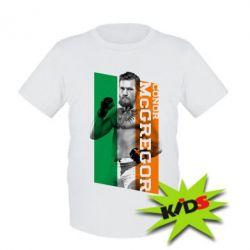 Детская футболка Conor UFC - PrintSalon