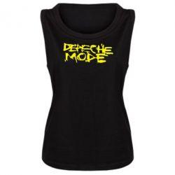 Женская майка Depeche mode - PrintSalon