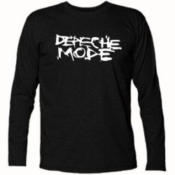 Футболка с длинным рукавом Depeche mode - PrintSalon