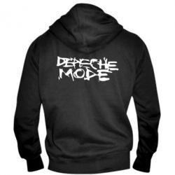 Мужская толстовка на молнии Depeche mode - PrintSalon