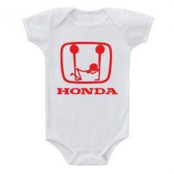 Детский бодик Honda - PrintSalon