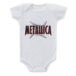 Детский бодик Metallica Logo - PrintSalon