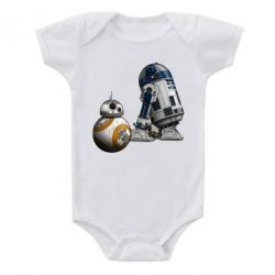 Детский бодик R2D2 & BB-8 - PrintSalon