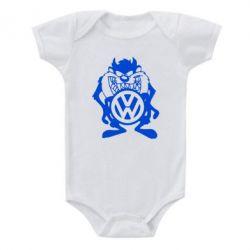 Детский бодик Тасманский дьявол Volkswagen