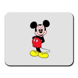Коврик для мыши Довольный Микки Маус - PrintSalon