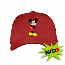 Детская кепка Довольный Микки Маус - PrintSalon