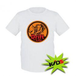 Детская футболка Drift for Life