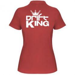 Женская футболка поло Drift King