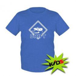 Детская футболка Drift - PrintSalon