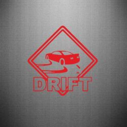 Наклейка Drift - PrintSalon