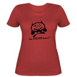 Женская футболка Это Subaru детка!!!