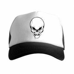 Кепка-тракер Evil skull