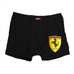 Мужские трусы Ferrari 3D Logo