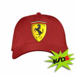 Детская кепка Ferrari 3D Logo