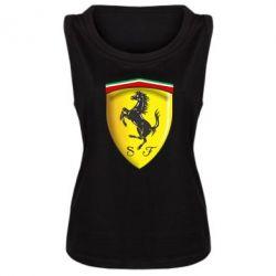 Женская майка Ferrari 3D Logo