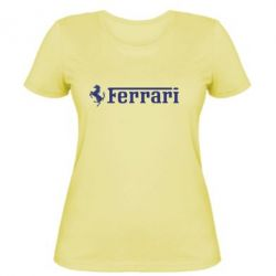 Женская Ferrari - PrintSalon