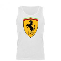 Мужская майка Ferrari