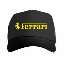 Кепка-тракер Ferrari - PrintSalon