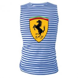 Майка-тельняшка Ferrari