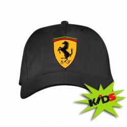 Детская кепка Ferrari