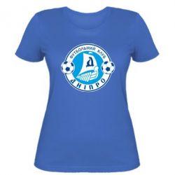 Женская футболка ФК Днепр - PrintSalon