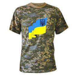 Чоловічі камуфляжні футболки (мілітарі) з принтом 8663b00453bed