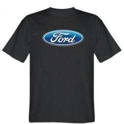 Мужская футболка Ford 3D Logo - PrintSalon